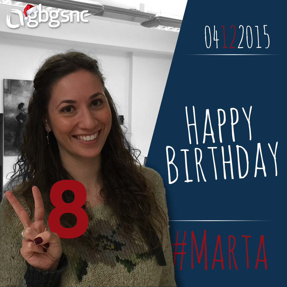 happy birthday marta